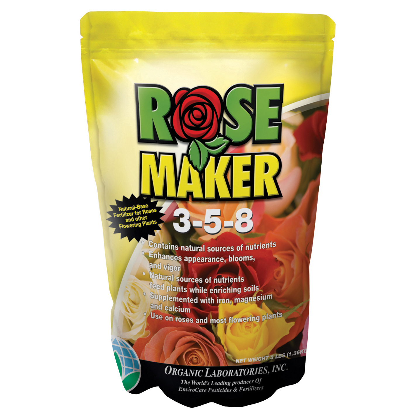 Organic Laboratories Inc Organic Lab 3lb Rose Maker Fertilizer & Soil Conditioner at Sears.com