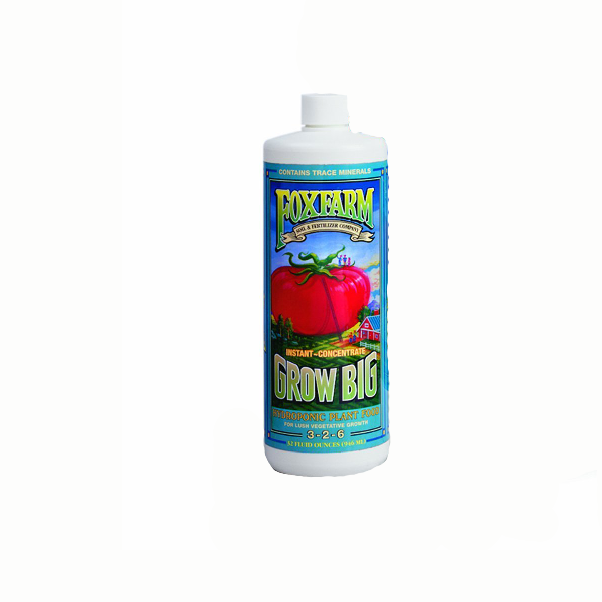 Fox Farm Grow Big Hydroponic Liquid Concentrate Fertilizer 3-2-6, 16 Ounces at Sears.com