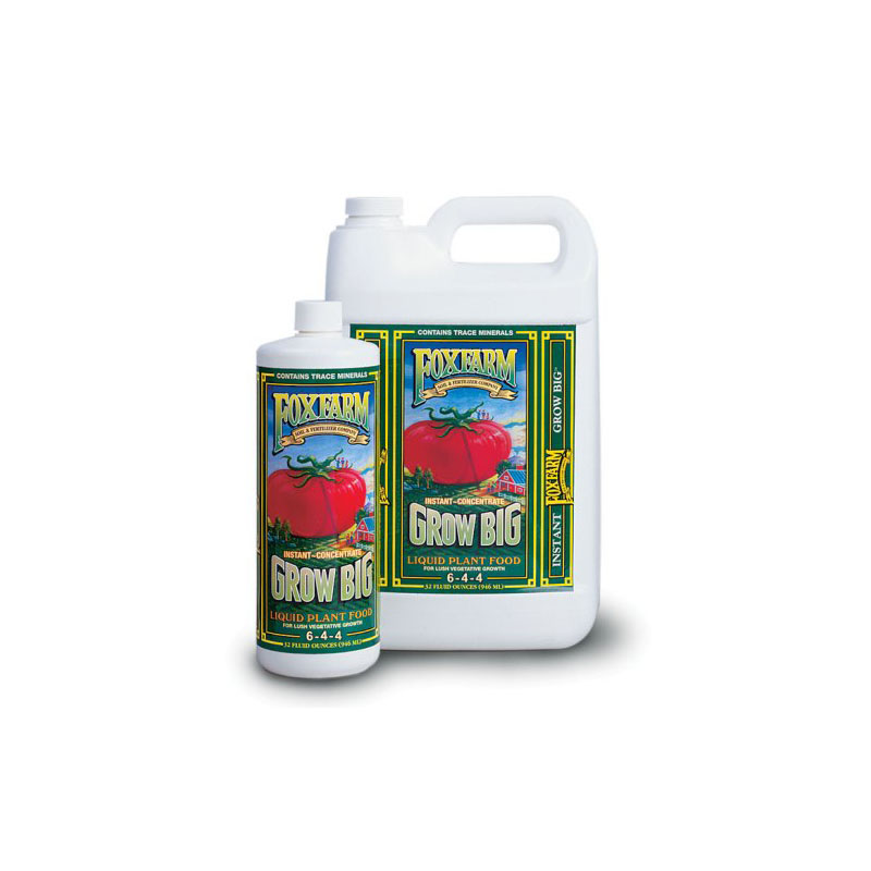 Fox Farm Grow Big Liquid Plant Food, 1 quart at Sears.com