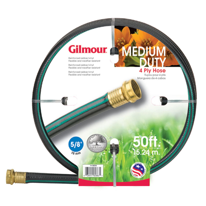 GILMOUR MFG Gilmour 15 Series 4 Ply Reinforced Vinyl Garden Hose, 5/8 In x 25 Ft