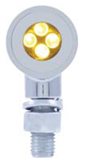 United Pacific 4 LED Mini Bullet Marker Light, Turn Signal, Amber, Car,Truck, Motorcycle, EA at Sears.com