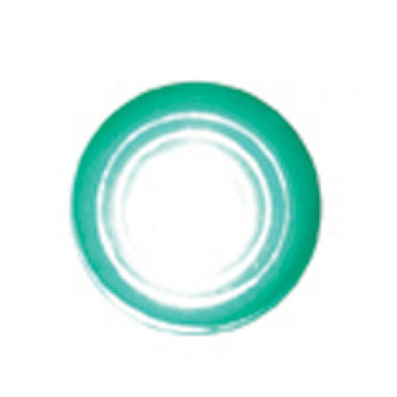 "Super Bright LED Indicator Light w/ Green Lens Fits 1/4"" - Hot Rod Rat Rod Custom"