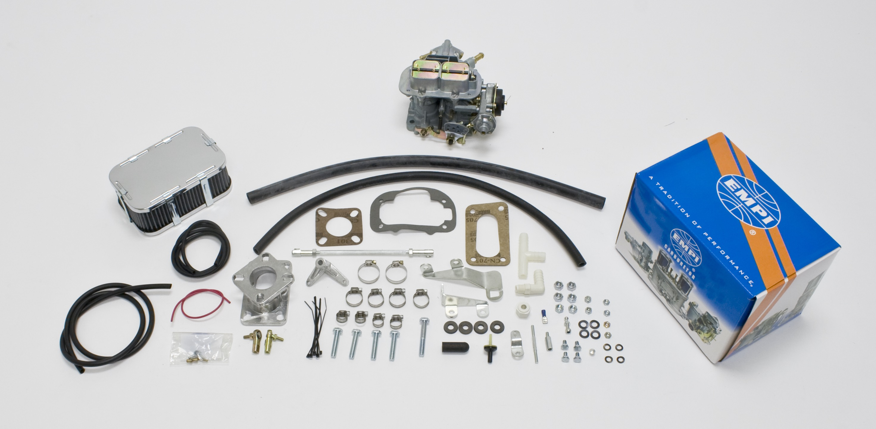 EMPI 32/36E Carb Kit Jeep 1974-78 Cj - 258Ci 6 Cyl 4.2L Carter 1-BBL C-1 YFA
