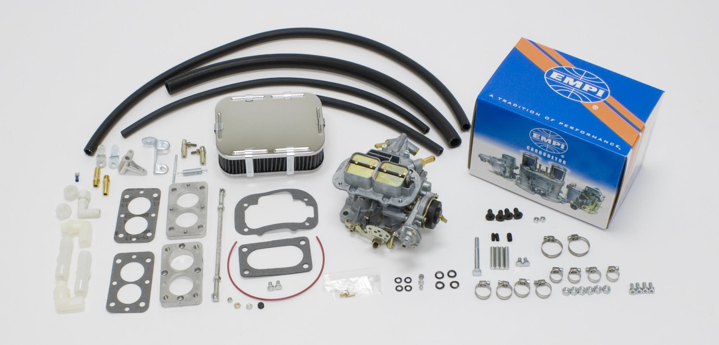 EMPI 32/36E Carburetor Kit Fits Jeep 76-90 Cherokee CJs (C, M, T) C-2BBL C-2BBD
