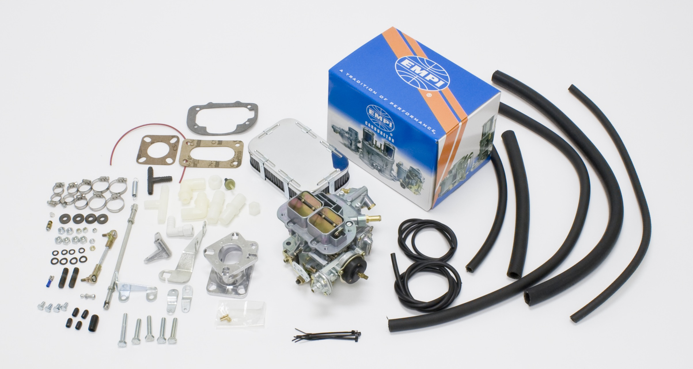 EMPI 32/36E Carb Kit Fits Jeep Cj Cherokee - 1983-88 151Ci 4 Cyl 2.5L (U)