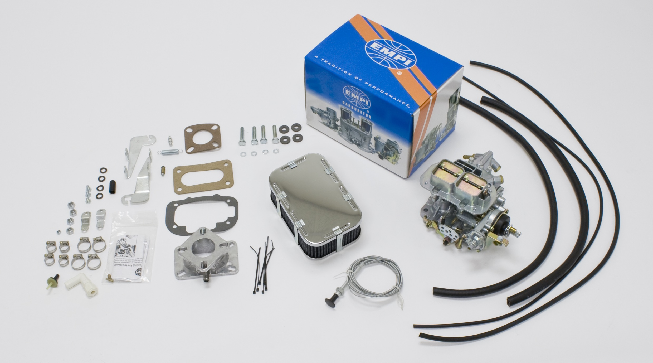 EMPI 32/36M Carb Kit Jeep Cj - 1950-71 134Cl 4 Cyl 2.1L (F, Sf 4J)