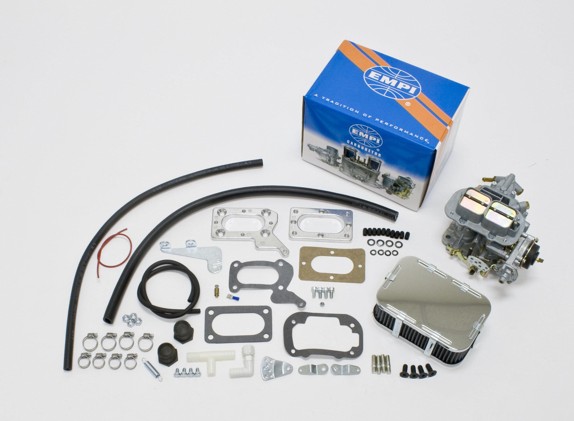 EMPI 32/36E Carb Kit Electric Choke Fits Mitsubishi Chrysler Dodge 2.0/2.6L