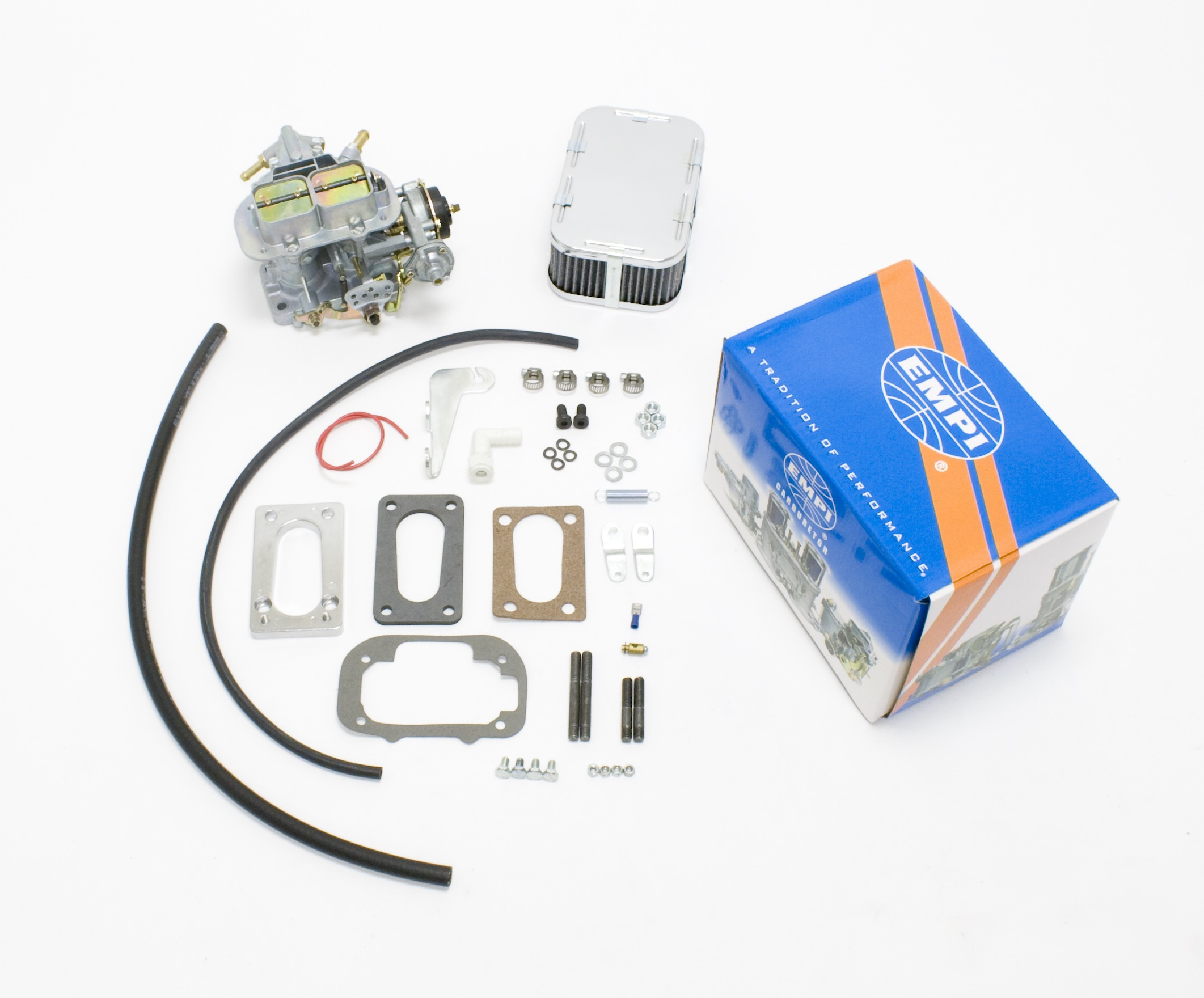 EMPI 32/36E Carb Kit Elec Choke Fits Isuzu 86-87 Trooper Pick-Up 2300cc
