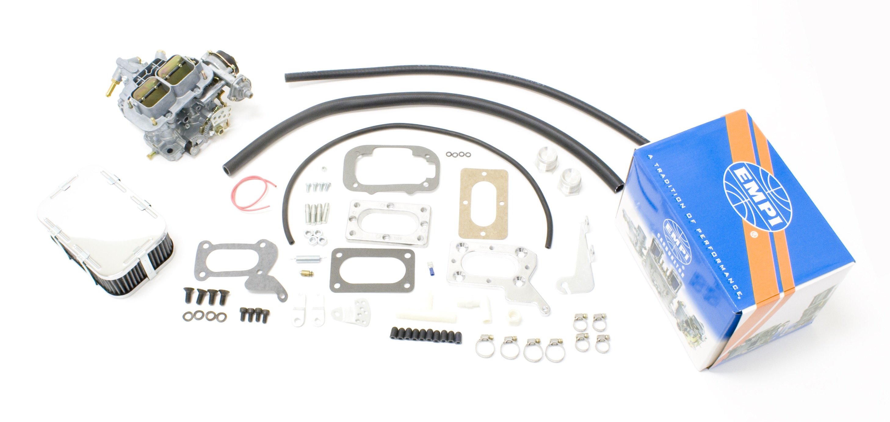 EMPI 38E Perf Carb Kit Electric Fits Mitsubishi Chrysler Dodge 2.0/2.6L