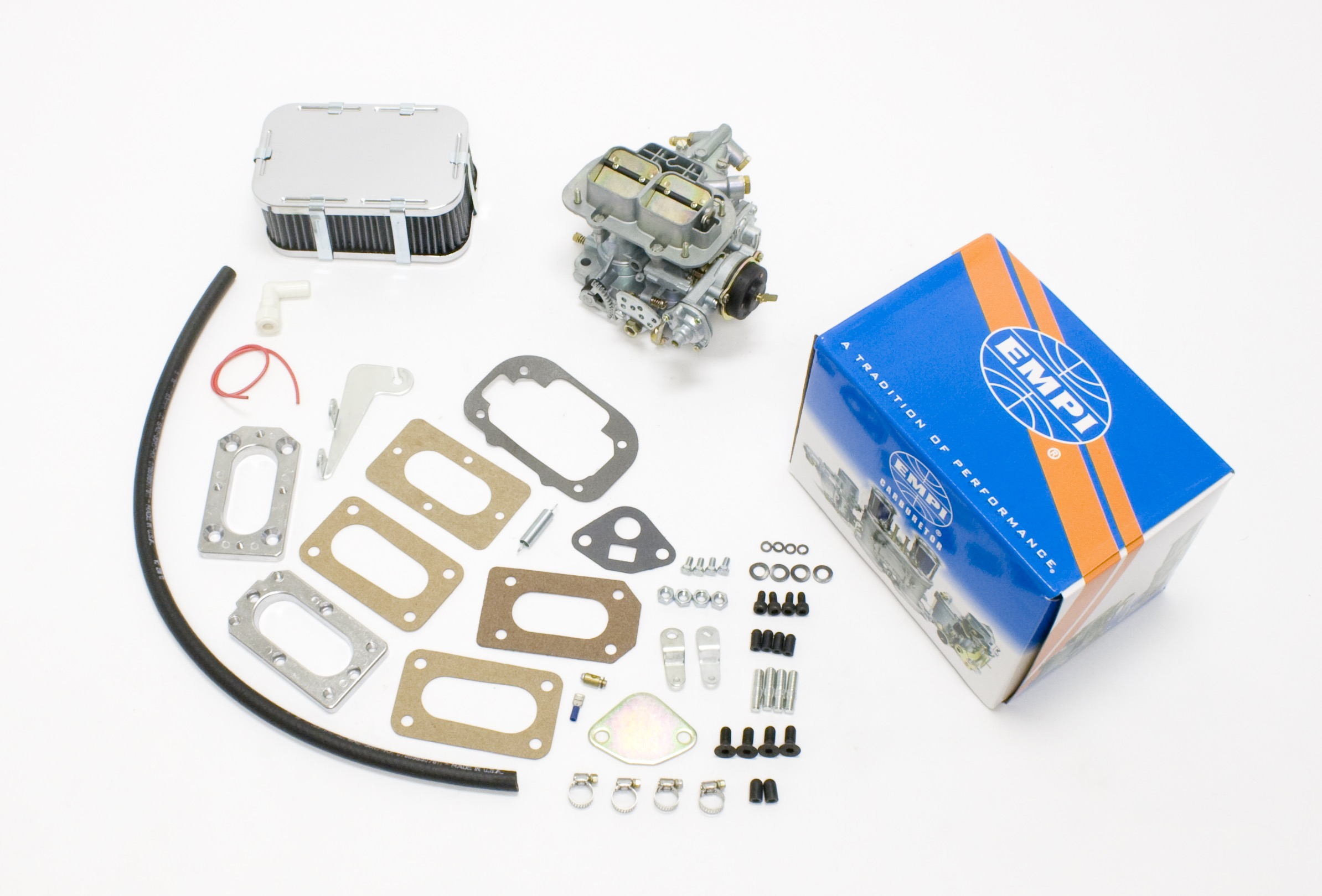 EMPI 38E Perf Carb Kit Fits Nissan 68-82 2187/1595/1770/1952cc Chevy Luv