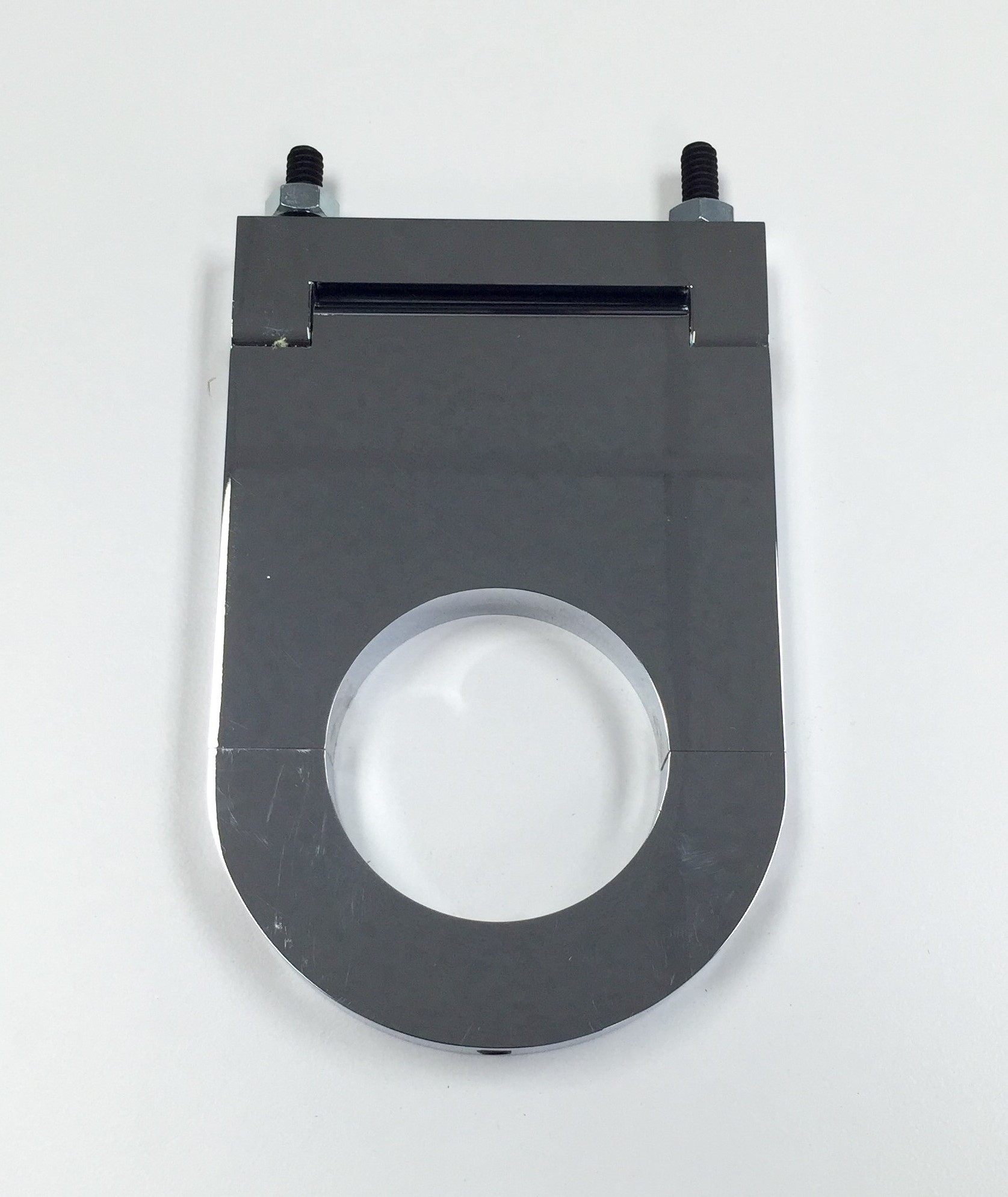 Hot Rod Chrome Aluminum 2 x 3 1/2 Inch Steering Column Drop