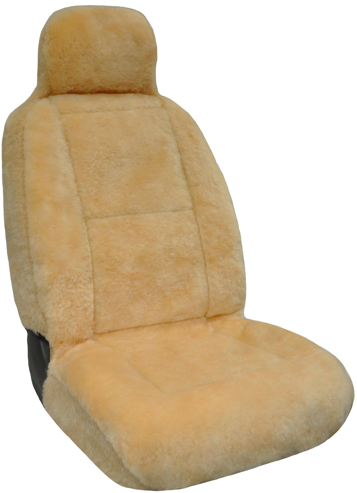 Eurow sheepskin seat cover new xl design premium pelt for Motor sheep seat covers