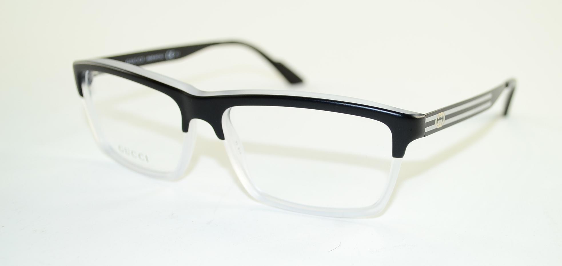Gucci Womens Eyewear Frames GG 3517 53 mm Black Crystal ...