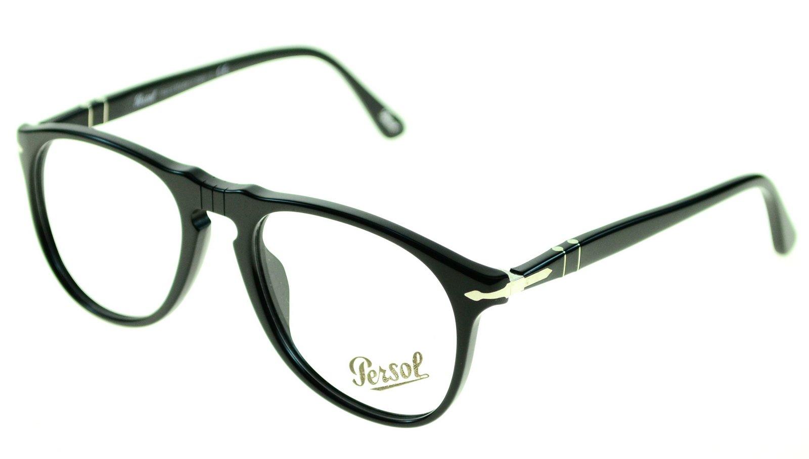 persol mens eyewear frames po 9649v 52mm black 95 ebay