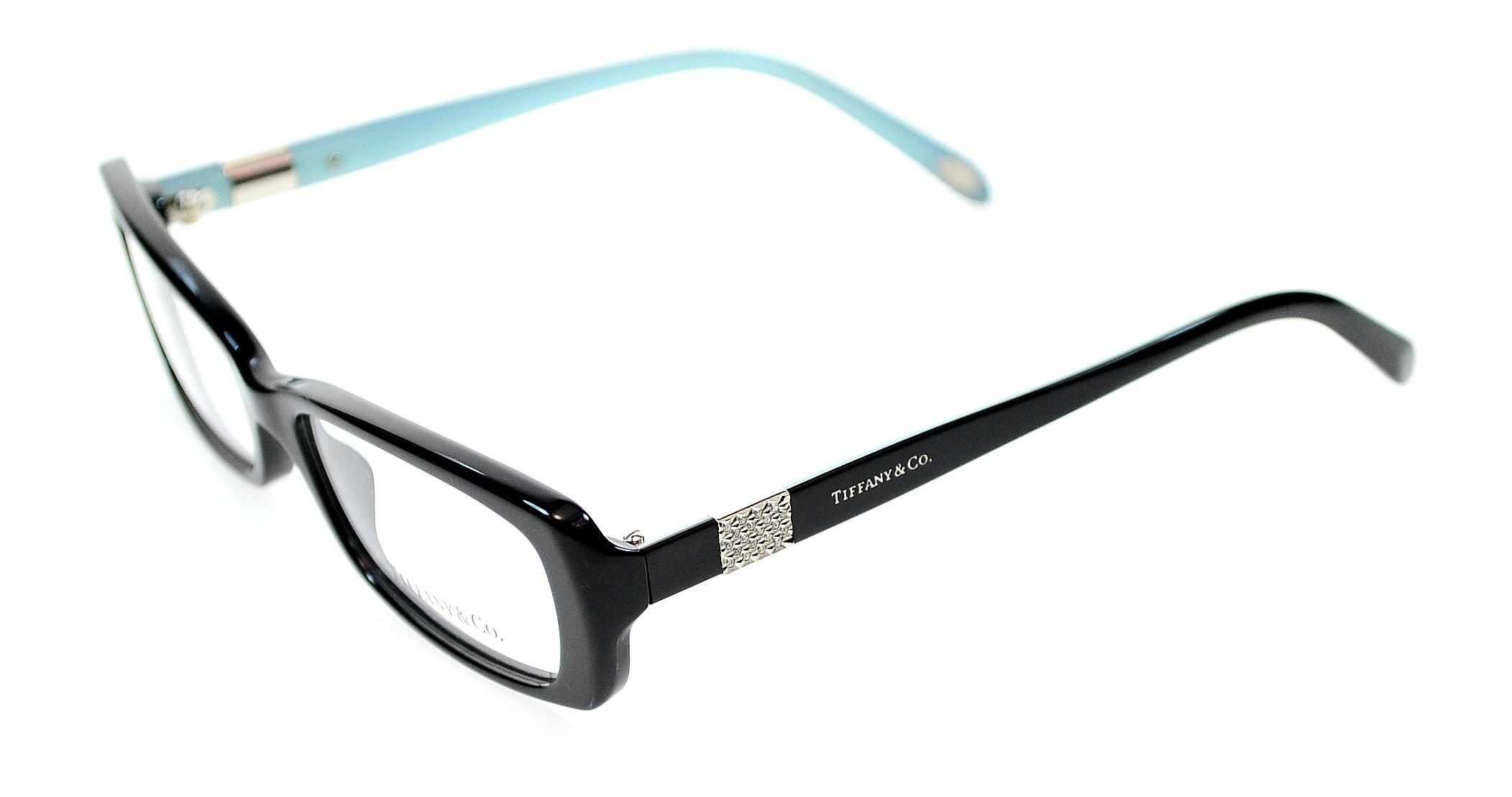 Tiffany Co Womens Eyewear Frames TF2070B 53 mm Black 8001 ...