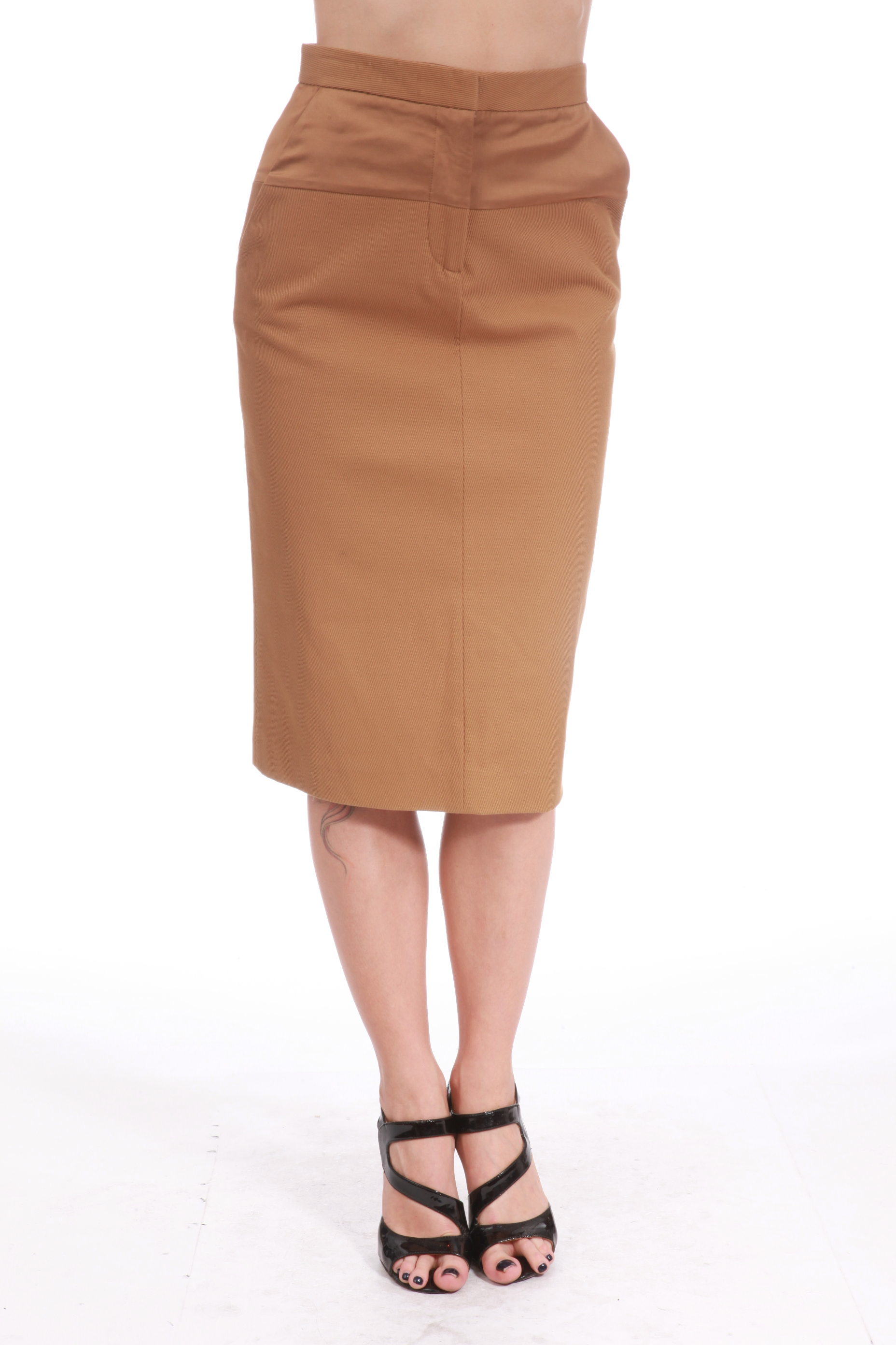 D&G BX3 D&G SKIRT BROWN Sz 40 SI0744 at Sears.com