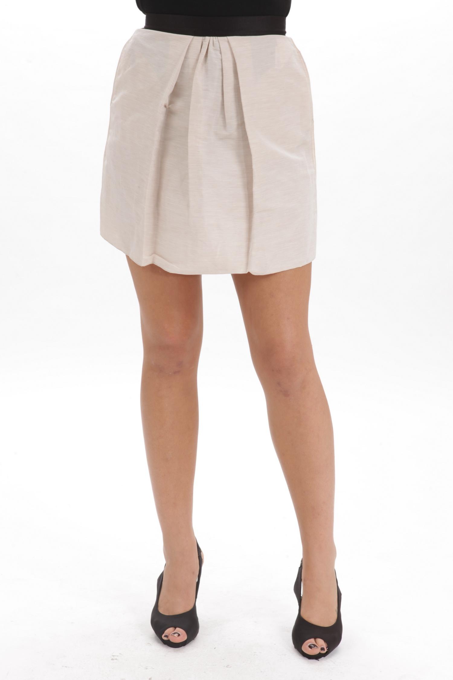 Dolce & Gabbana D & G Women's Skirt Beige Sz 40 SI0776 at Sears.com