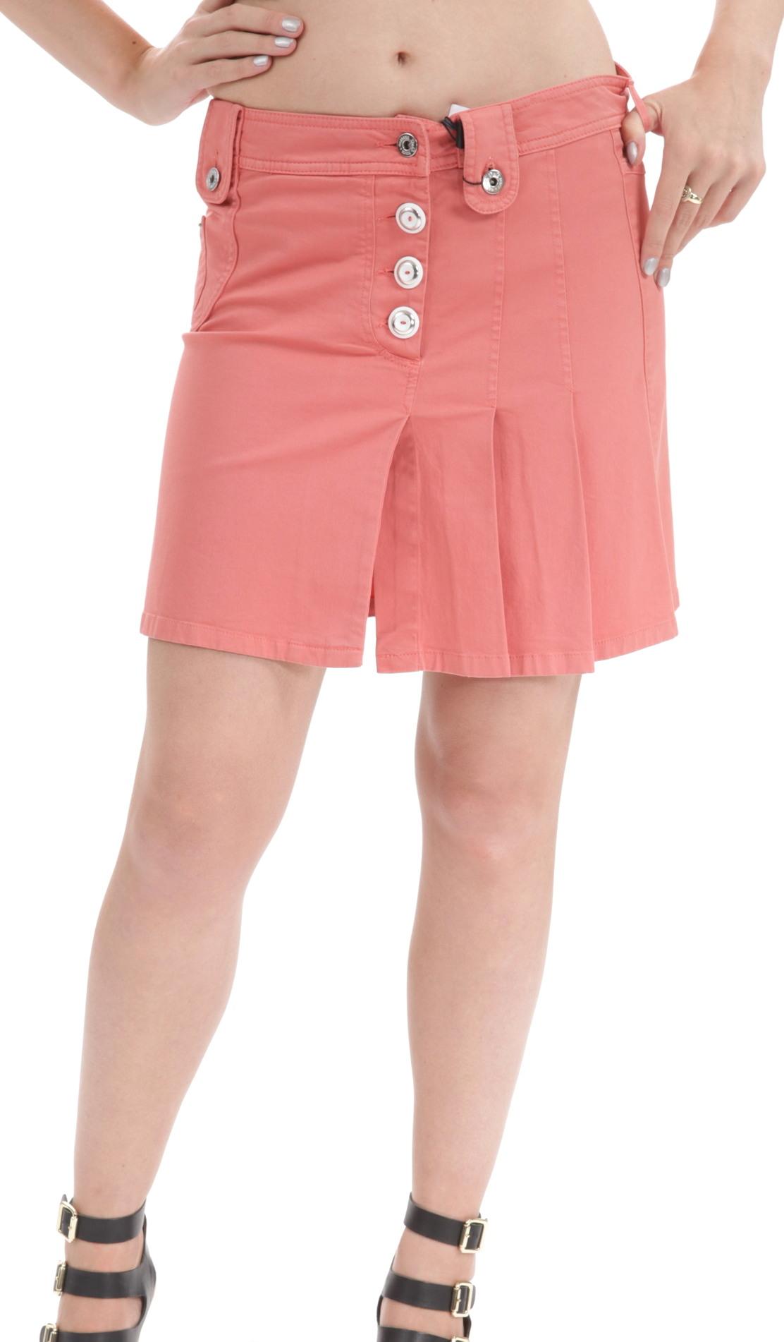 Dolce & Gabbana Women's Orange Cargo Denim Mini Skirt STO36 at Sears.com