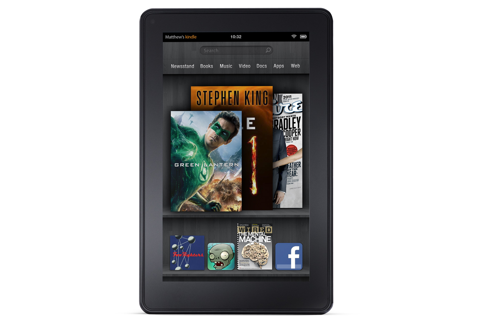 how to change email settings on kindle fire