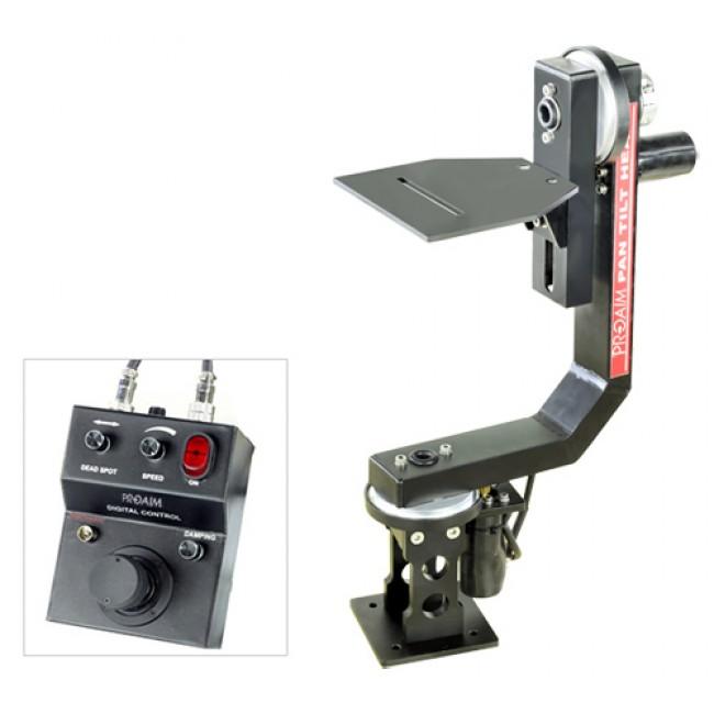 Proaim sr motorized pan tilt head with joystick control for Pan and tilt head motorized
