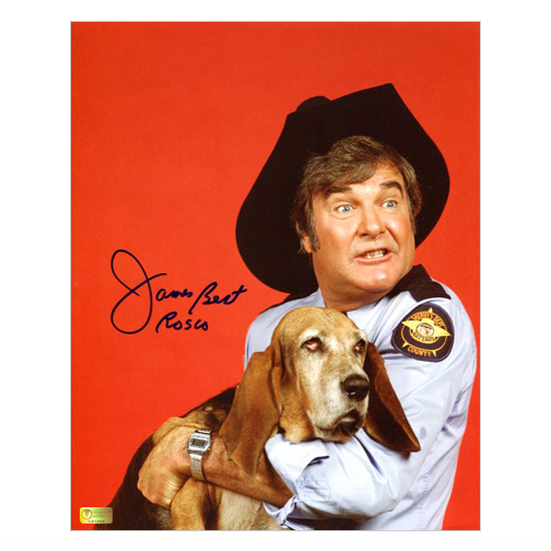 Celebrity Authentics James Best Autographed 8x10 The Dukes of Hazzard Sheriff Rosco with Flash Photo at Sears.com