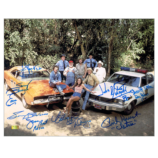 Celebrity Authentics The Dukes of Hazzard Cast Autographed 11x14 Photo Tom Wopat John Schneider at Sears.com