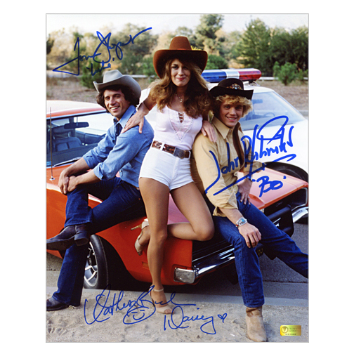Celebrity Authentics THe Dukes of Hazzard Autographed 8x10 Daisy, Bo and Luke Trio Photo at Sears.com