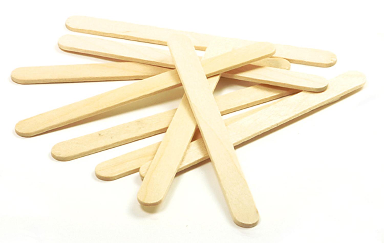 1,000pk Kids Craft Wooden Craft Sticks