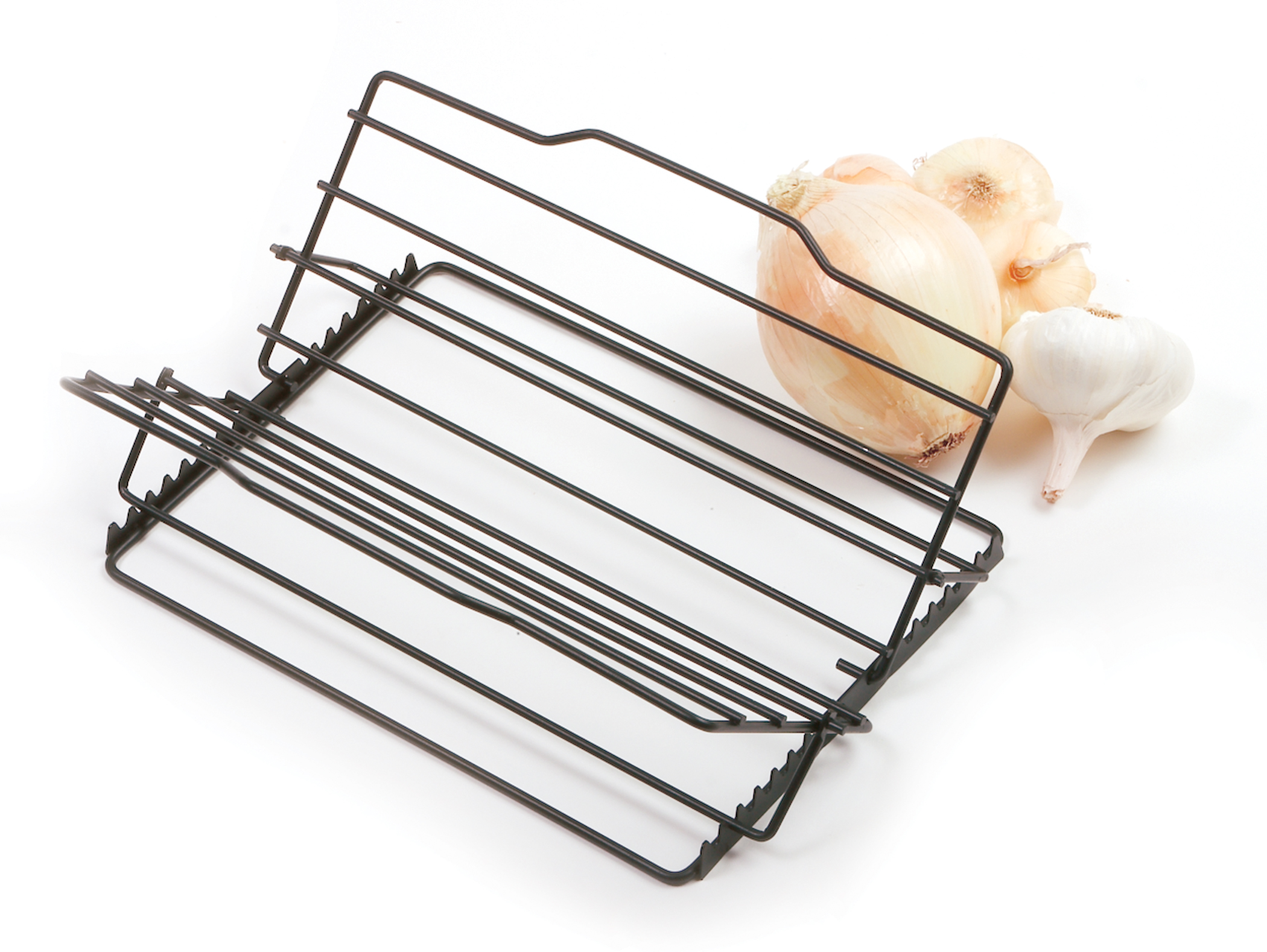 norpro nonstick adjustable roast poulty turkey meat roasting rack ebay. Black Bedroom Furniture Sets. Home Design Ideas