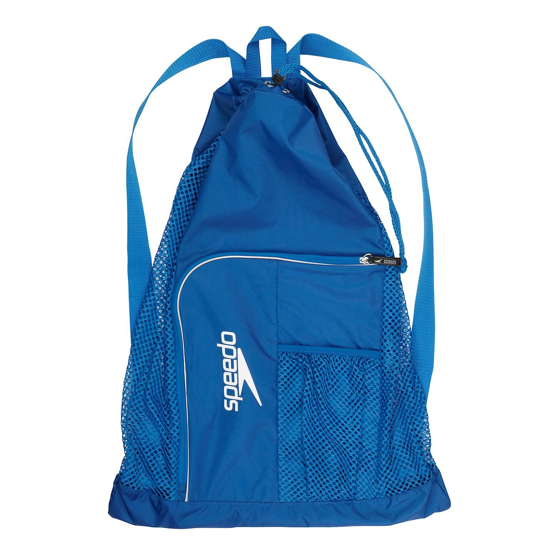 speedo swim deluxe ventilator mesh equipment pool gear swimming bag ebay
