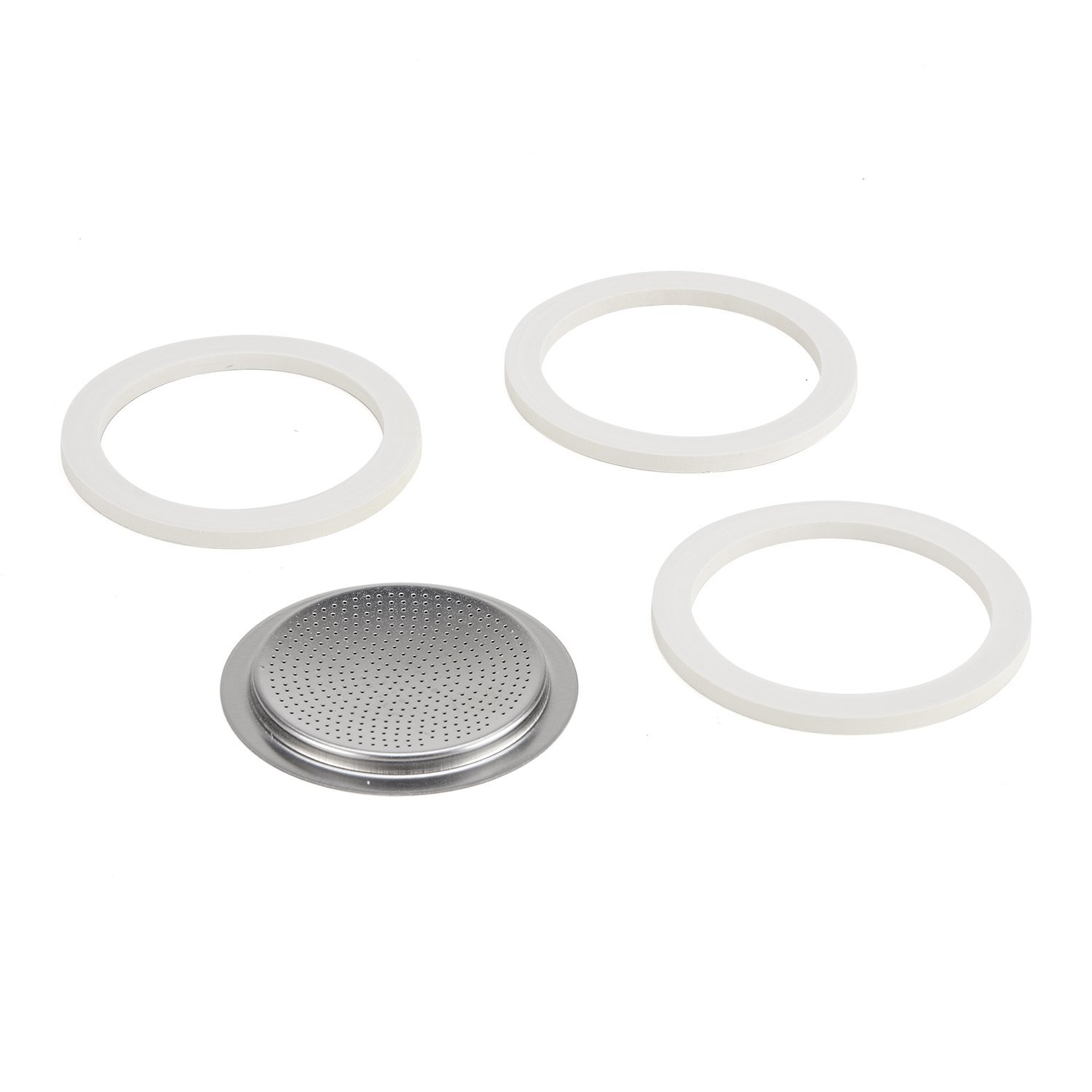 Bialetti Gasket and Filter Set for Stainless Steel Espresso Makers - 4 Cup eBay