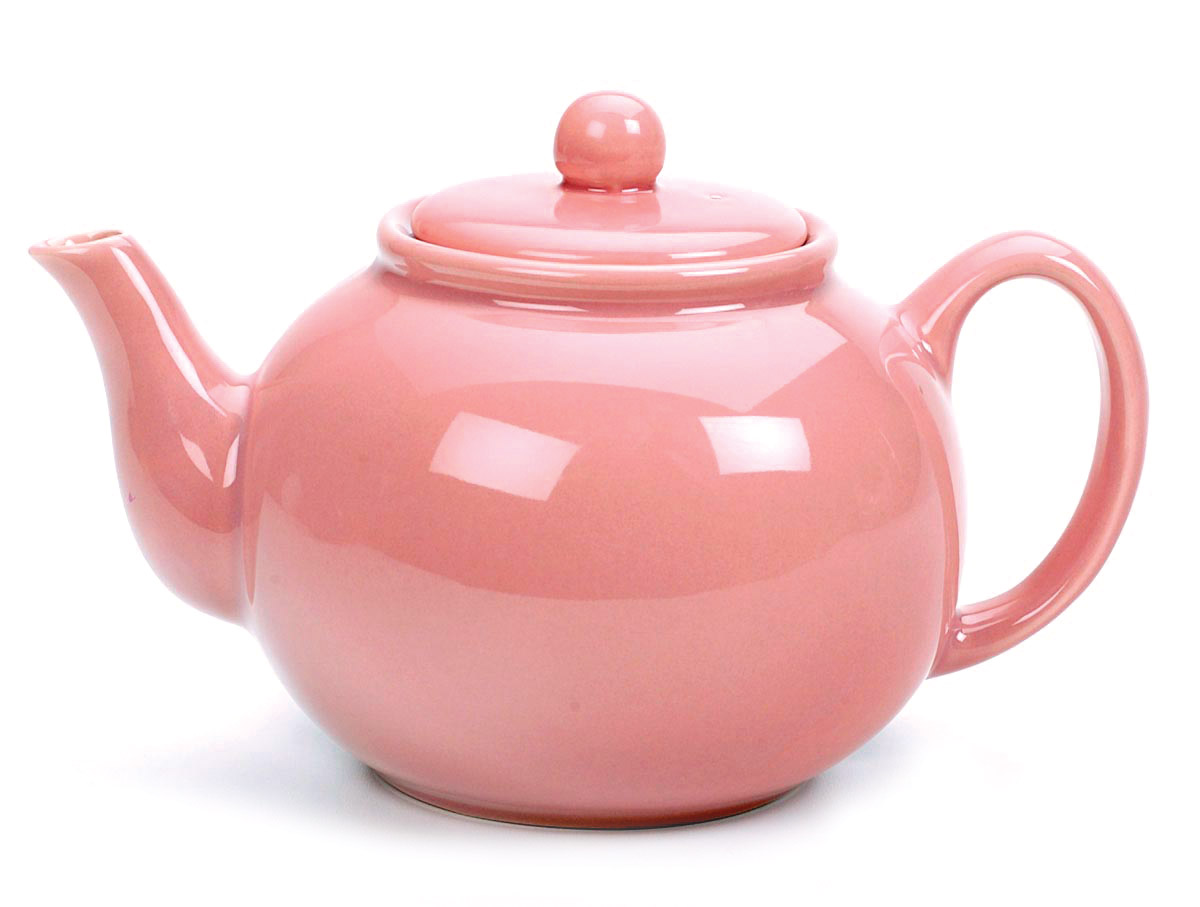 RSVP Tea Kettle Teapot 48oz Stoneware Herbal NEW | eBay