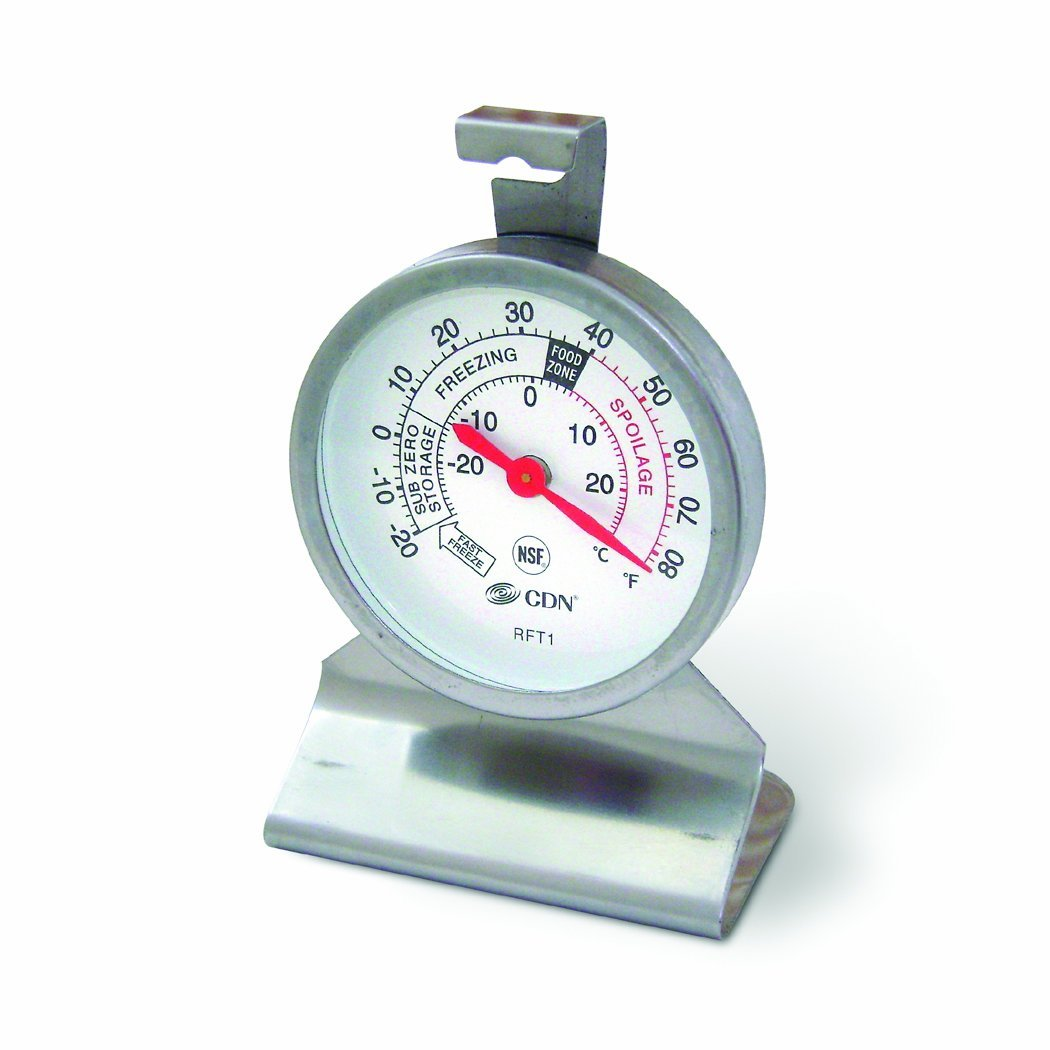 CDN Proaccurate Refrigerator Freezer Kitchen Thermometer Temperature ...