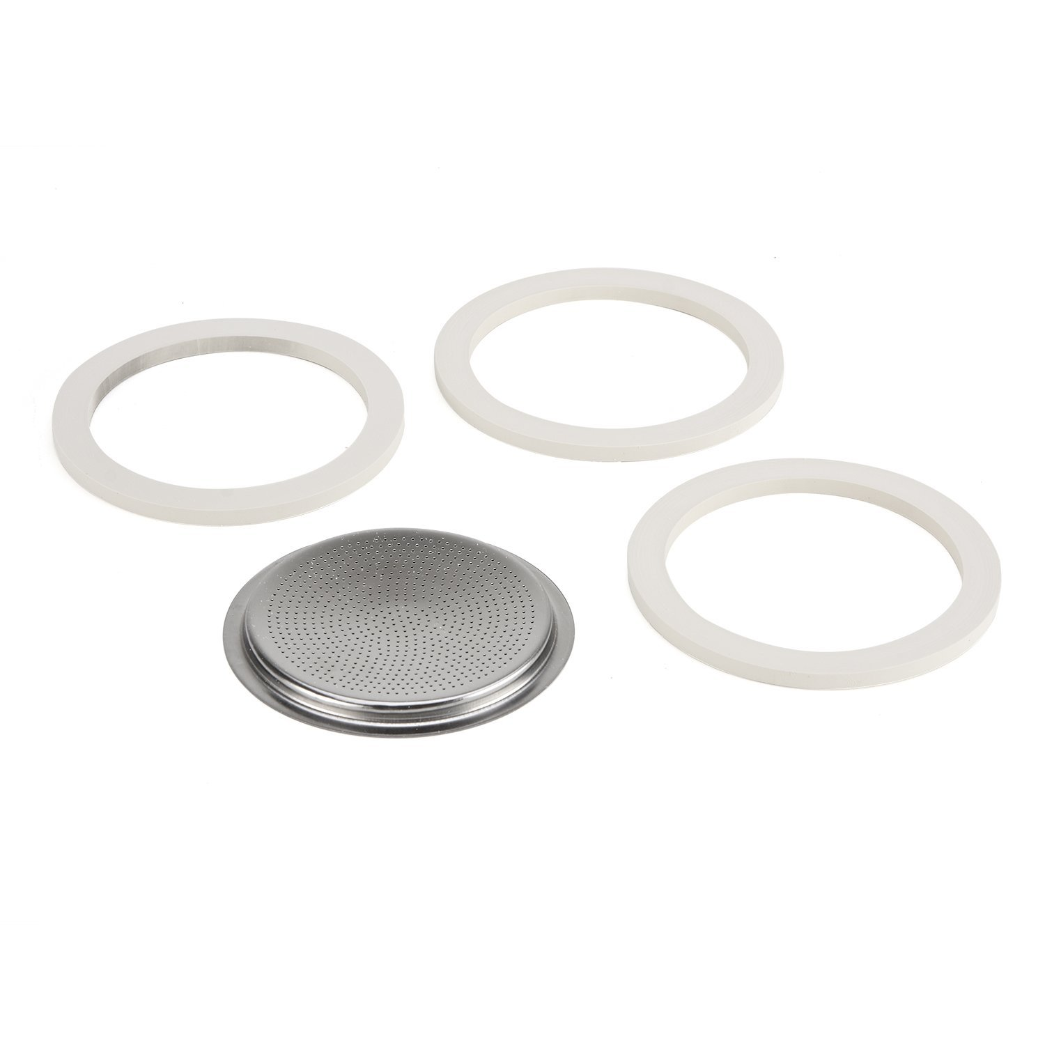 Italian Coffee Maker Seals : Bialetti Gasket and Filter Set for Stainless Steel Espresso Makers - 10 Cup eBay