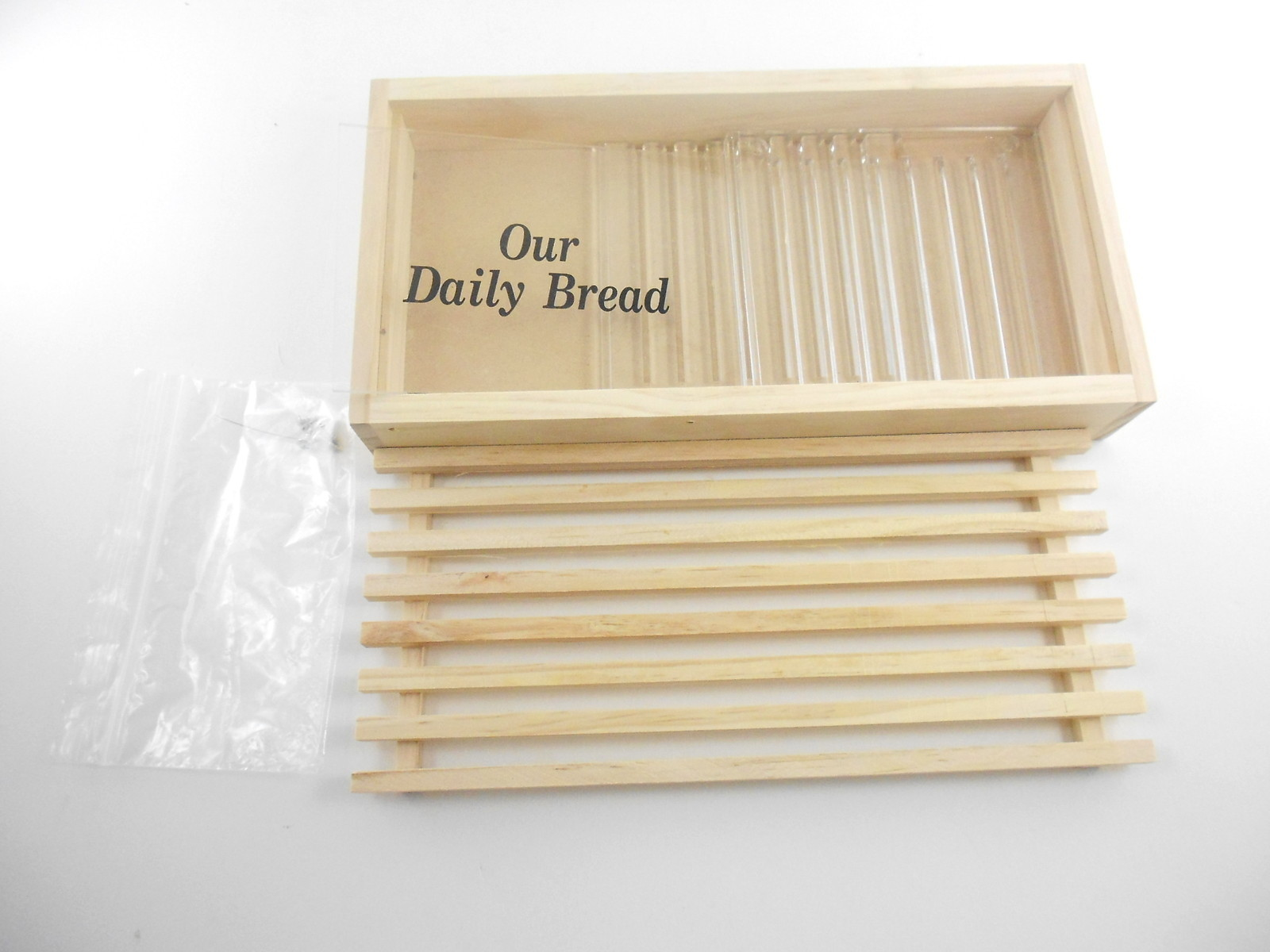 Bamboo Bread Slicer Guide With Crumb Catcher | M&W ...