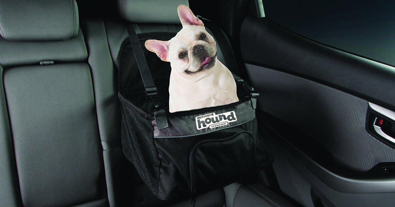 outward hound pupboost auto booster seat dog car seat adjustable black medium ebay. Black Bedroom Furniture Sets. Home Design Ideas