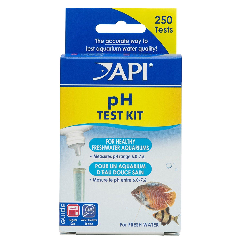Api ph alkaline acidic test kit freshwater aquarium water for How to lower ph in fish tank