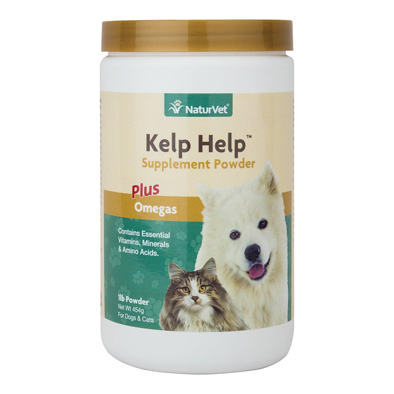 Naturvet Natural Kelp Help Essential Mineral Vitamin Dog