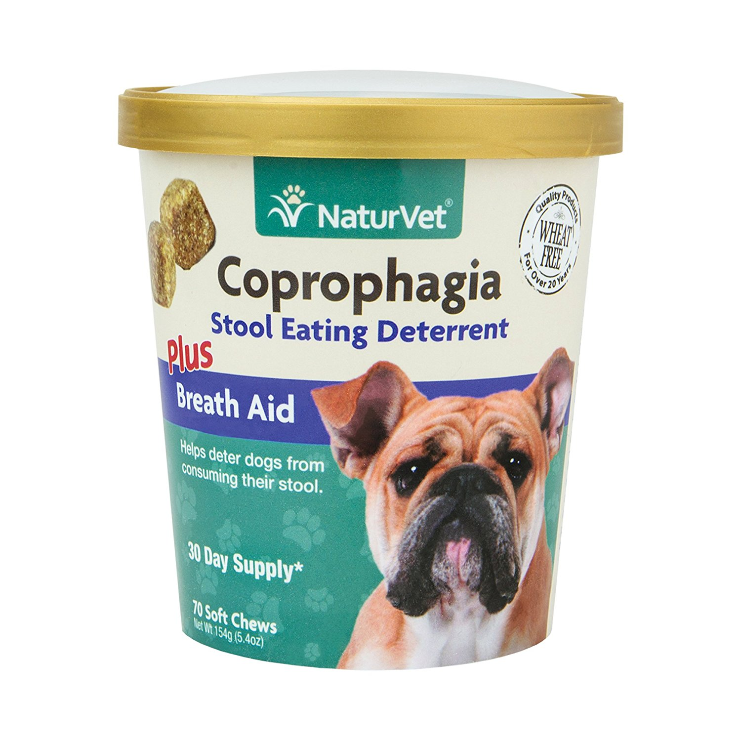Naturvet Coprophagia Plus Breath Aid Stool Deterrent Soft