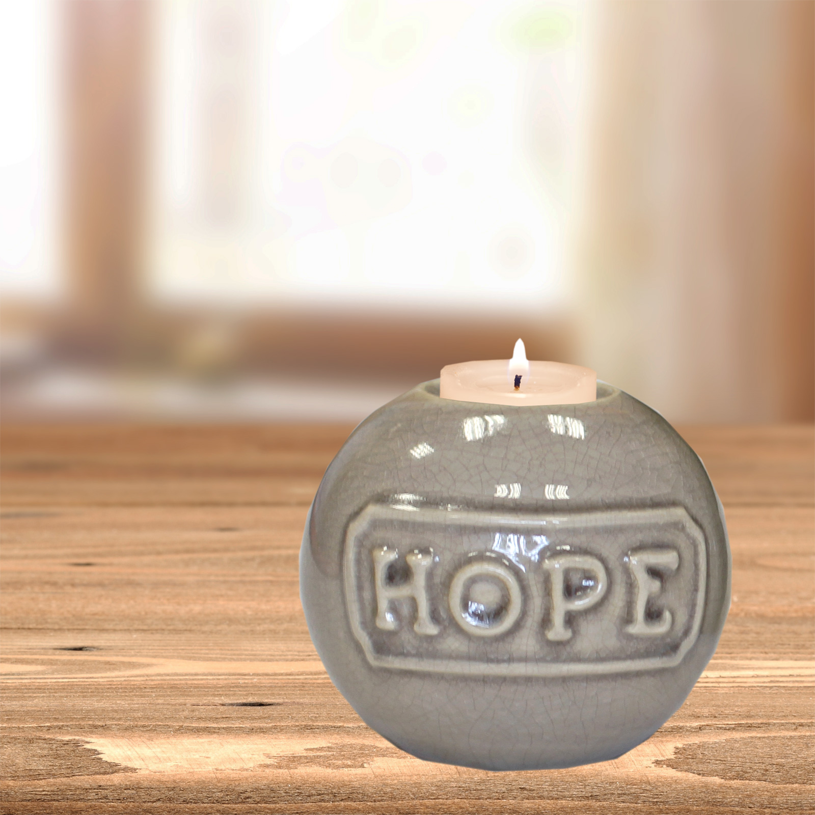 Inspirational Candle Holders Apothecary Tealight Holder Hope Main