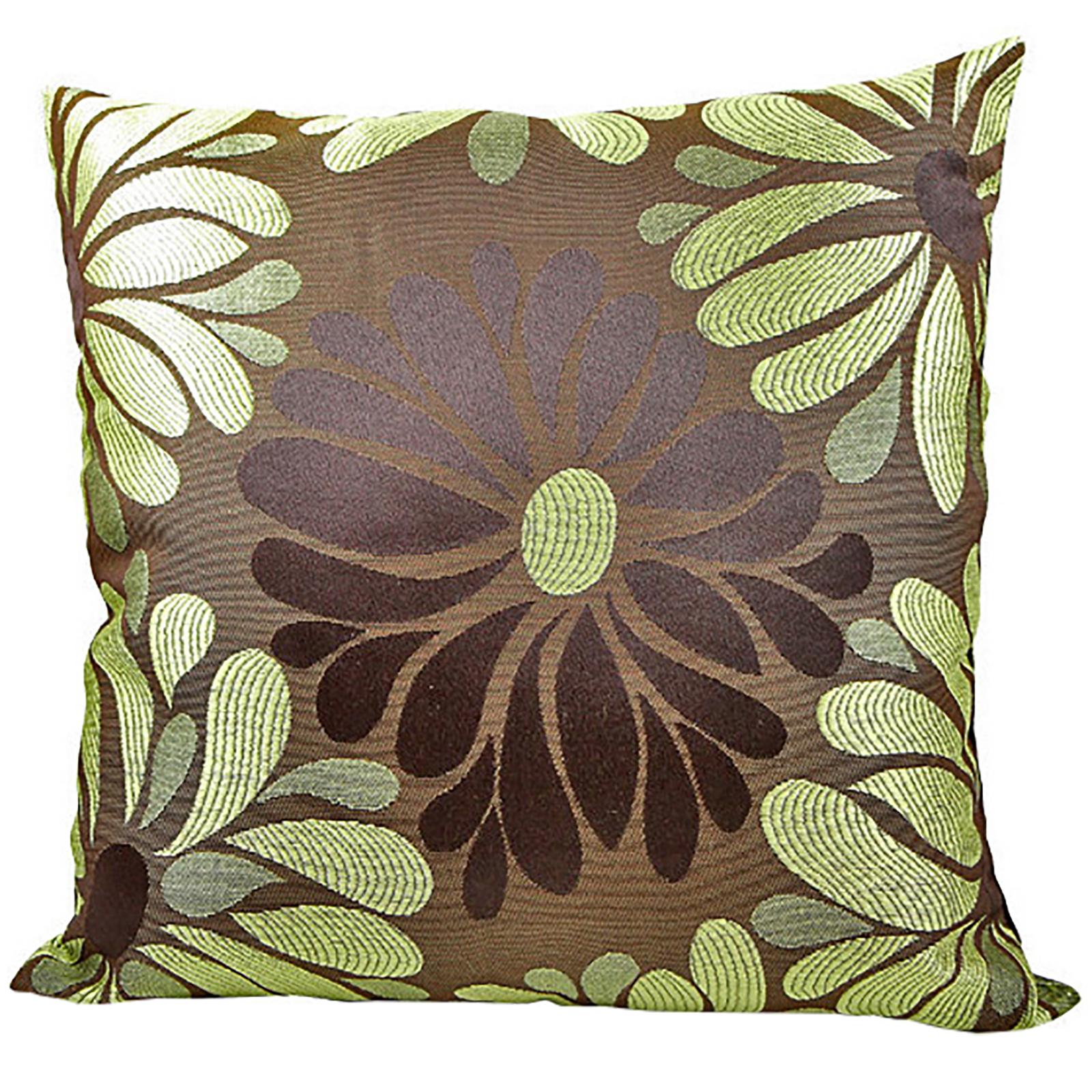 Tessuto floreale cuscini lusso divano letto federe per cuscini decorativi ebay - Cuscini decorativi letto ...