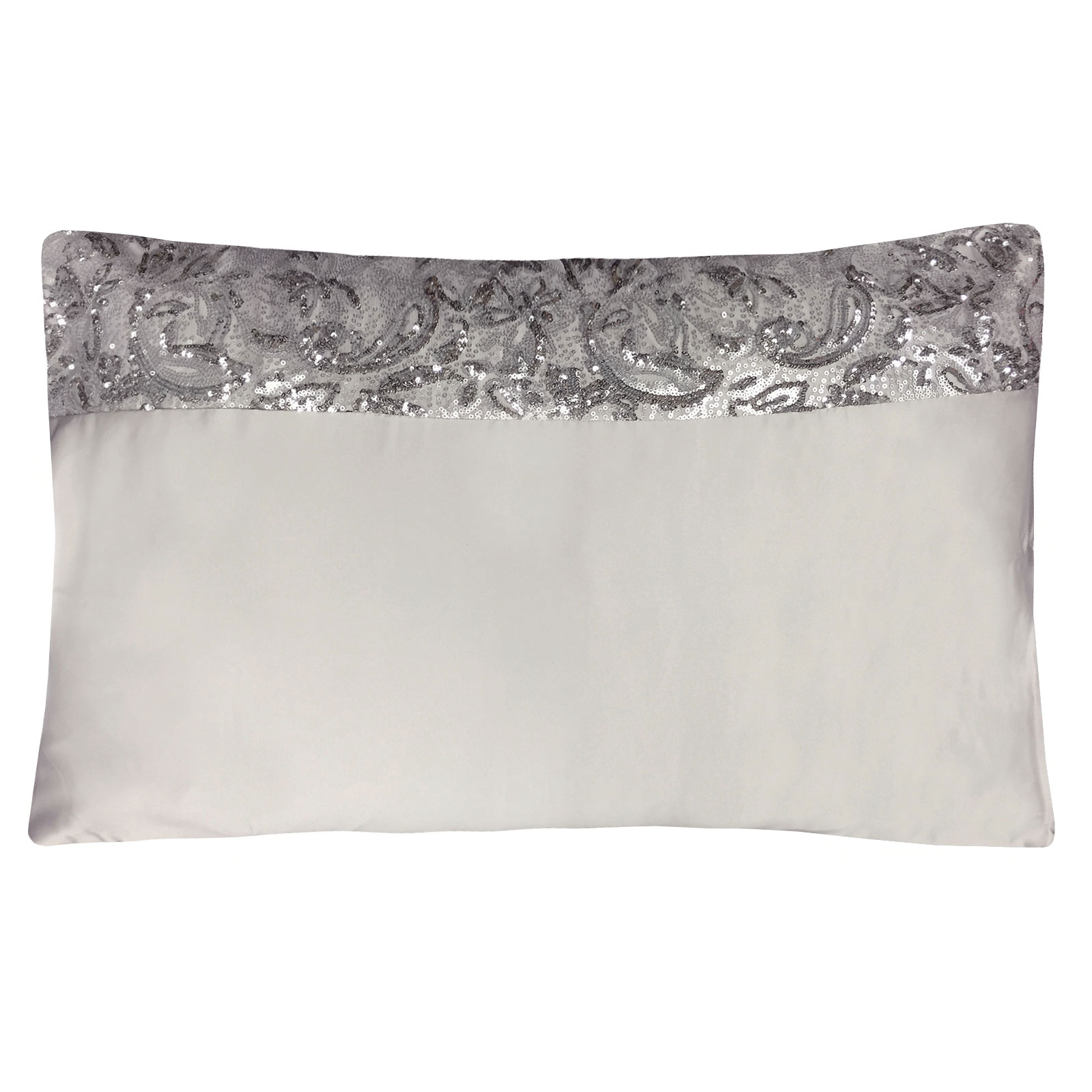alexa kylie minogue luxury pillow case with scroll sequin