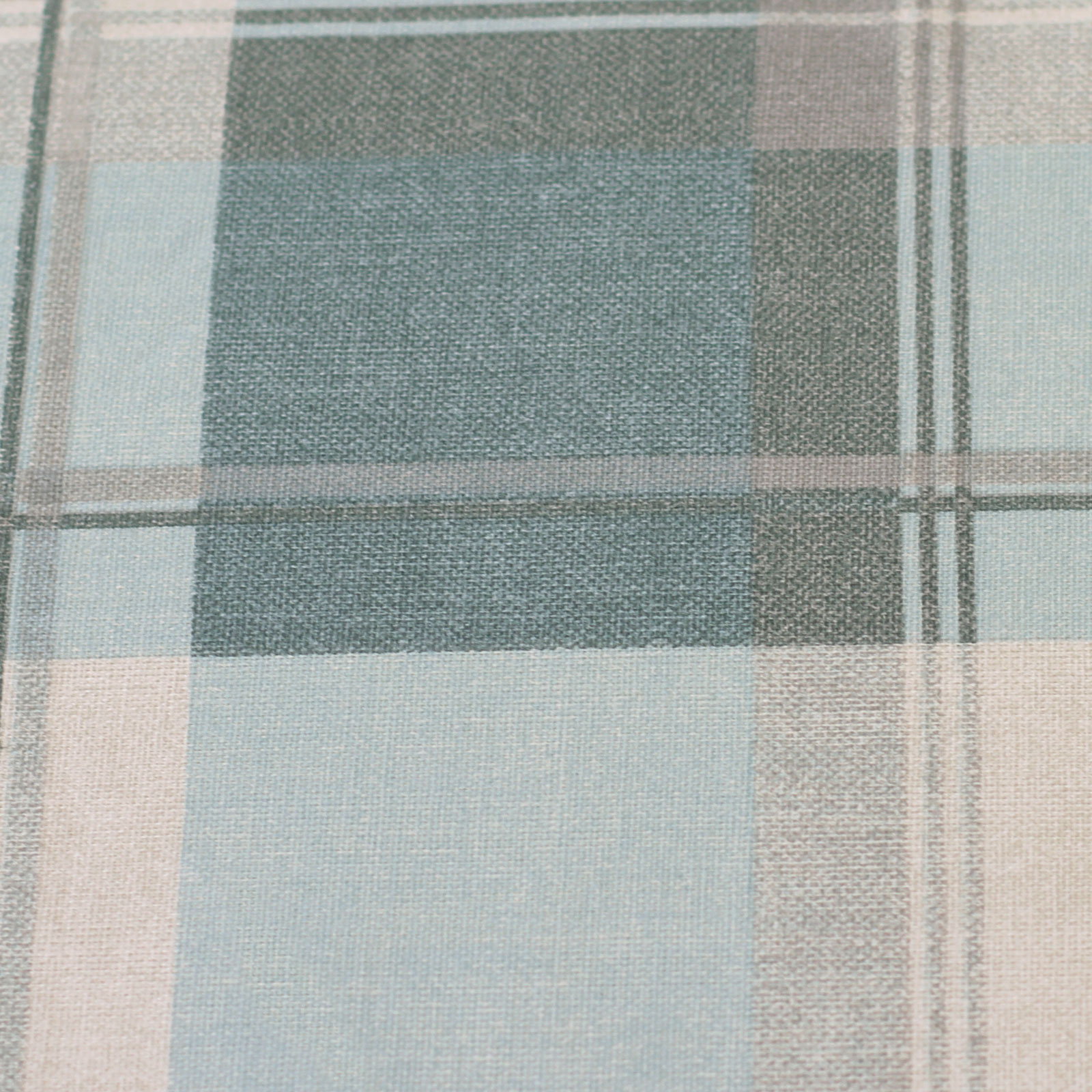 Highland Tartan Lined Eyelet Curtains Pair With Plaid