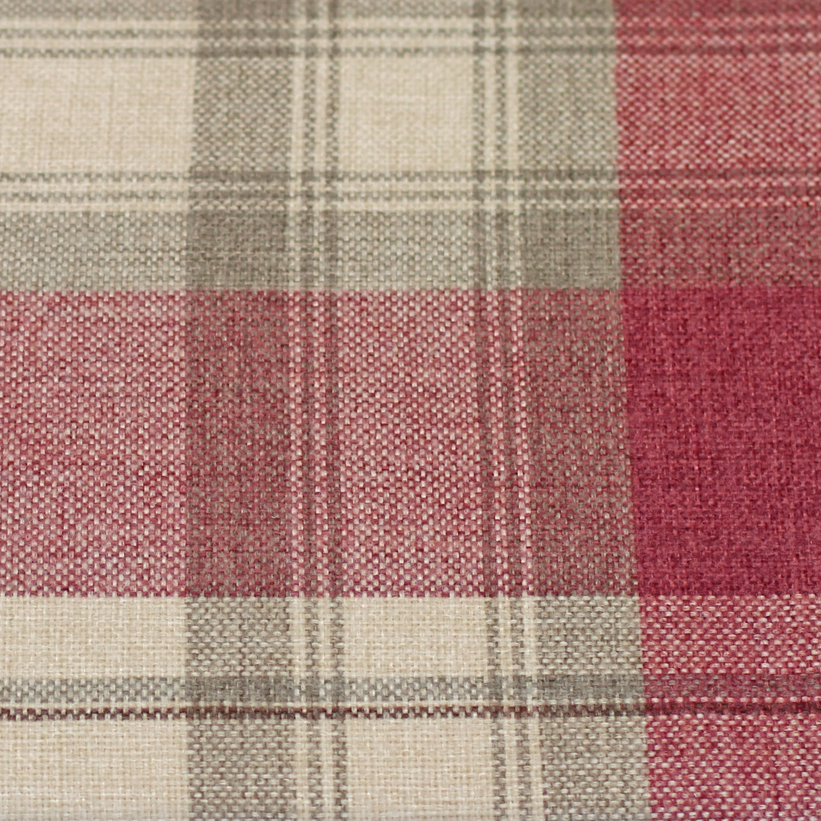 Warm Amp Cosy Rustic Tartan Check Lined Eyelet Curtains