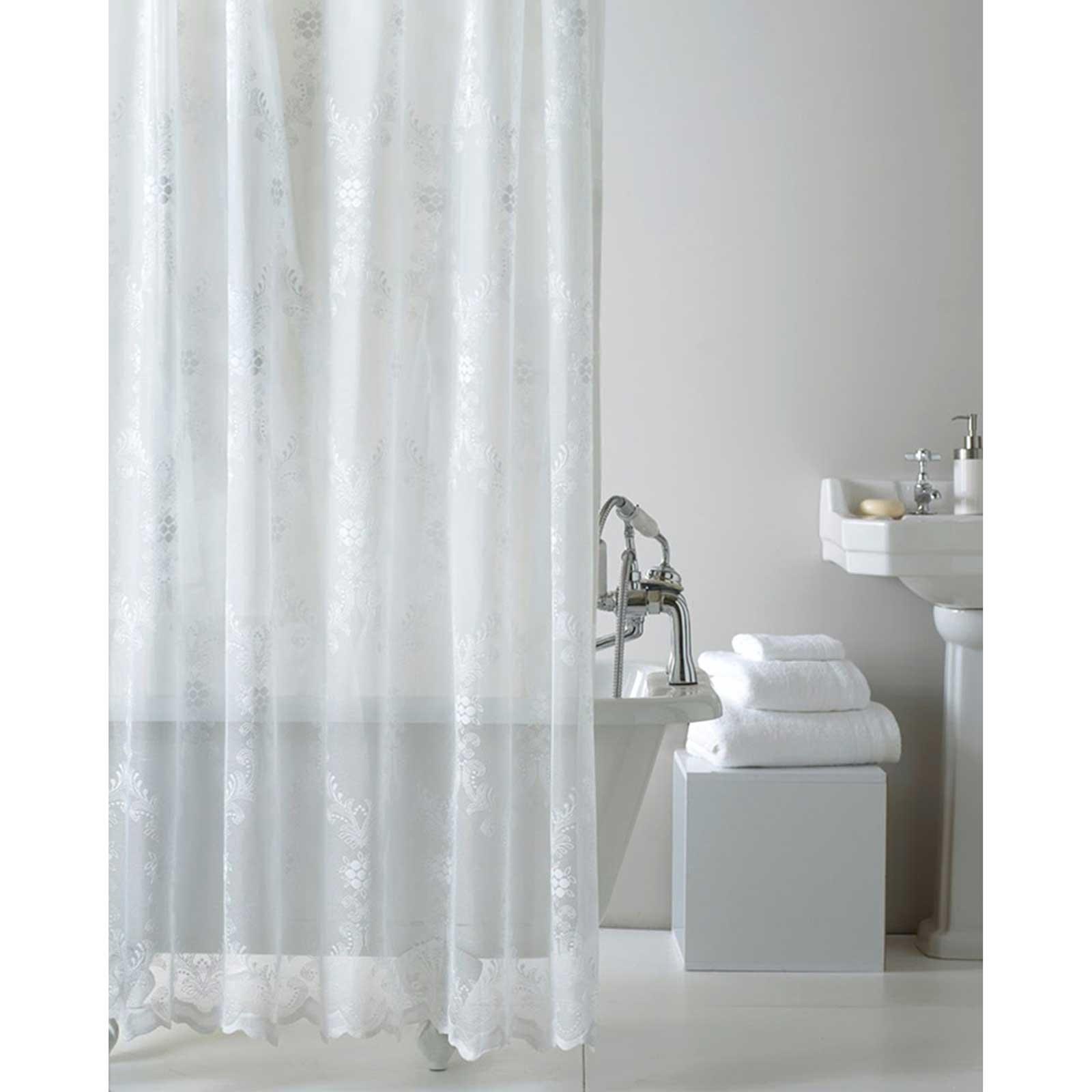 Quality Peva Shower Curtain With Ring Hooks For Bathroom 180 X 180 Cm Long Ebay