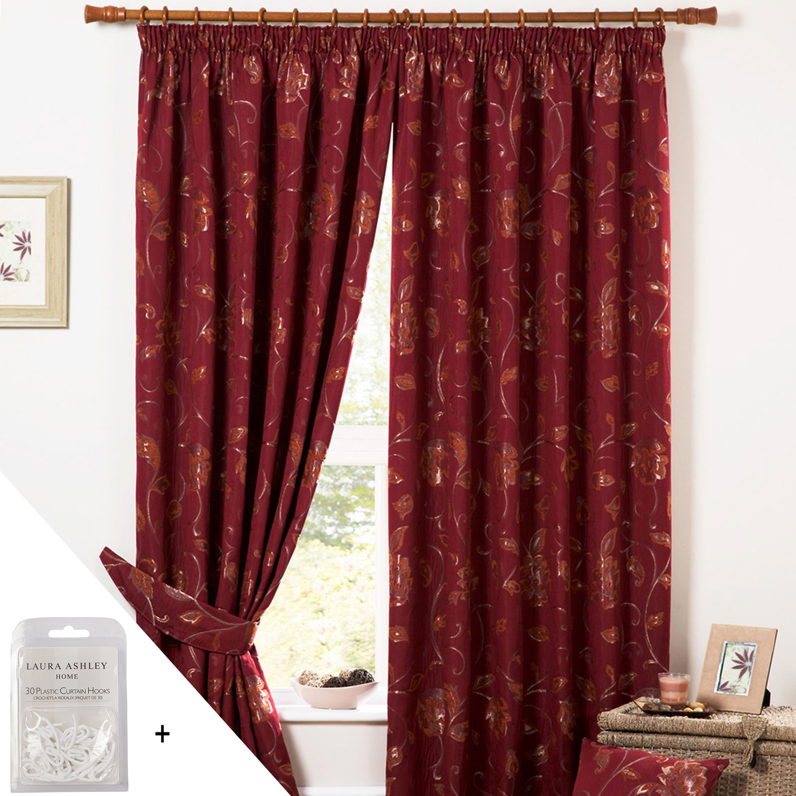 luxury heavy weight jacquard curtains pencil pleat lined. Black Bedroom Furniture Sets. Home Design Ideas
