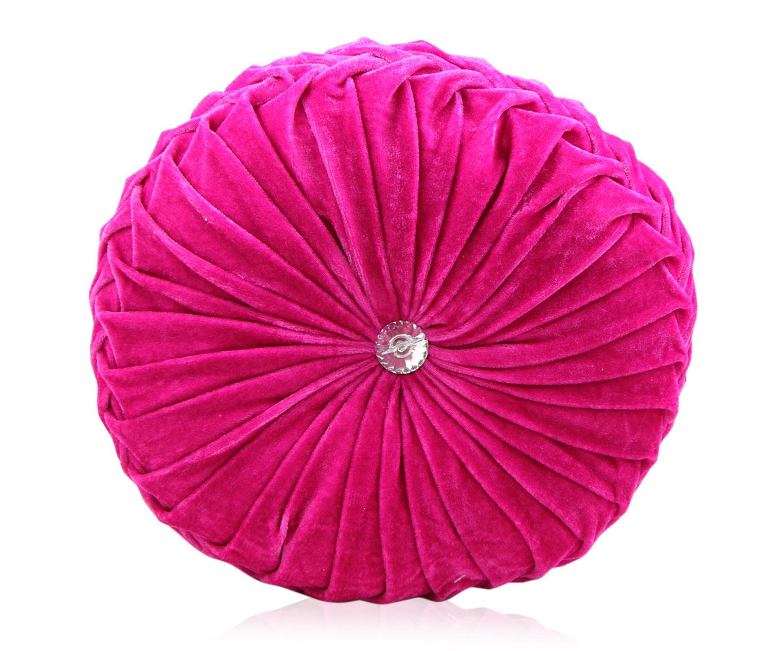 Round Velvet Cushions Purple Pink Luxury Diamante Chic  : diamond diamond cerise from www.ebay.com size 1600 x 1342 jpeg 1180kB