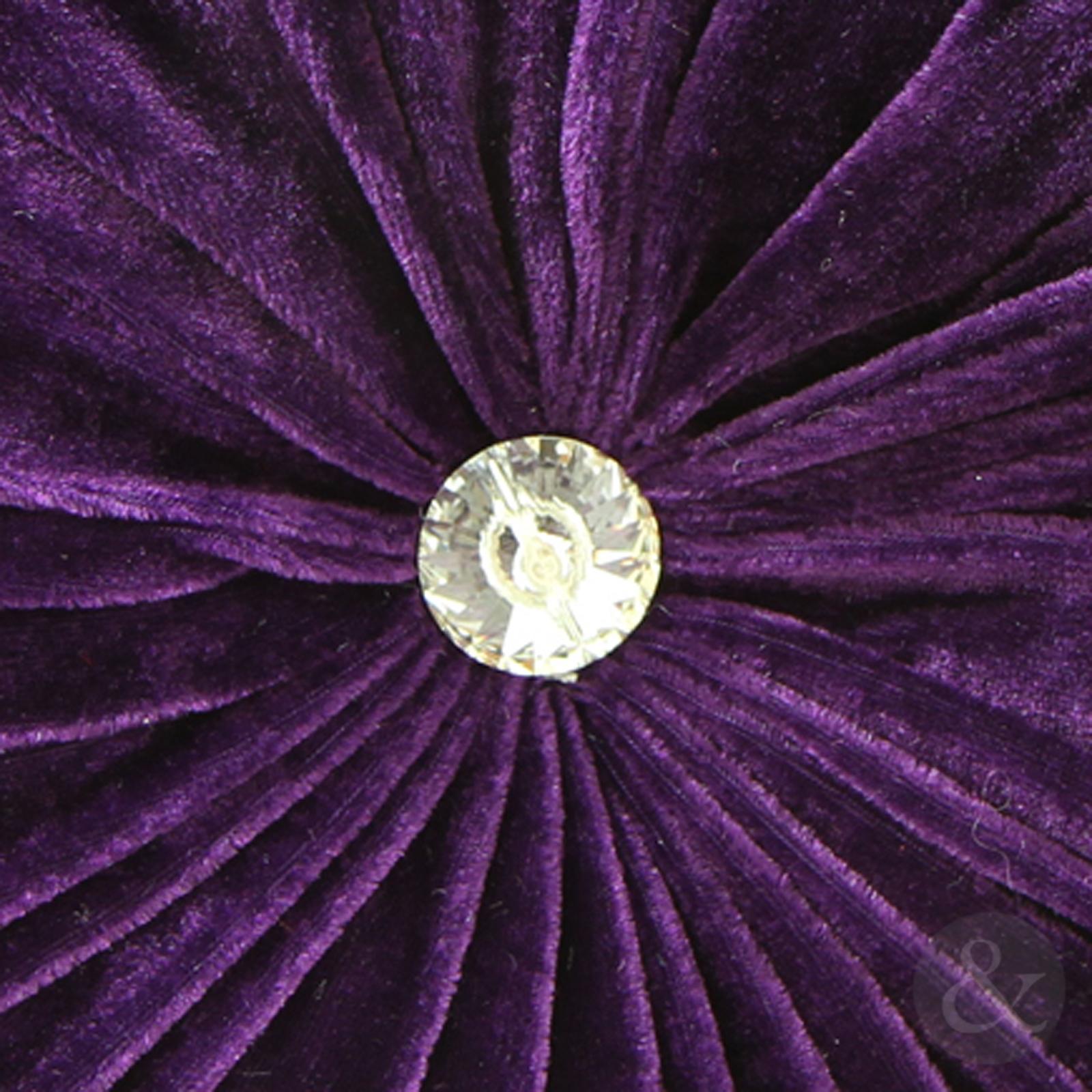 Round Velvet Cushions Purple Pink Luxury Diamante Chic  : diamond purpecloseup from www.ebay.com size 1600 x 1600 jpeg 1108kB