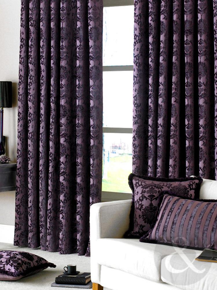 luxury vintage curtains velvet heavy pencil pleat lined. Black Bedroom Furniture Sets. Home Design Ideas