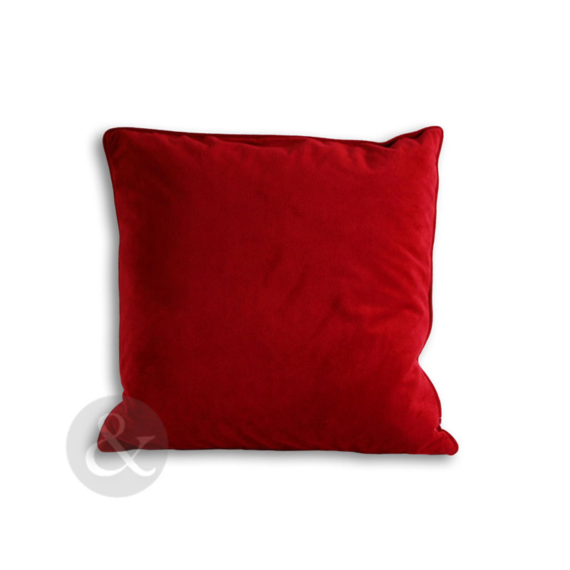 velvet cushion cover modern plain sofa scatter small
